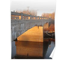 Bridge Over the Porcupine River Poster
