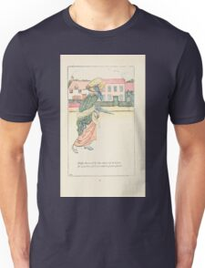 Mother Goose or the Old Nursery Rhymes by Kate Greenaway 1881 0020 Duffy Down Dilly Unisex T-Shirt