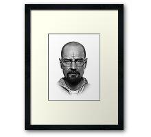 Satanic Walter White Framed Print