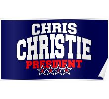 Chris Christie For President 2016 Poster
