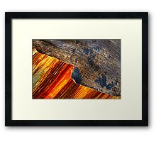 Two forces. Framed Print