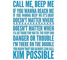 Call me, beep me Photographic Print