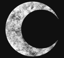 Moon Knight - Classic Symbol - White Dirty by garudoh
