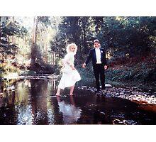 Barefoot Bride Photographic Print