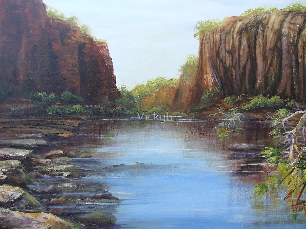 At Katherine Gorge by Vickyh