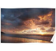 Sunrise at Crowdy Poster