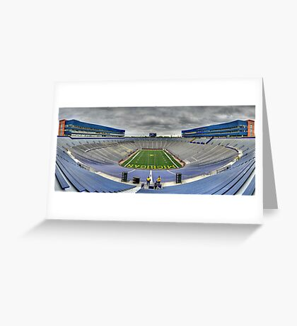 The Big House Greeting Card