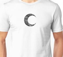 Moon Knight - Classic Symbol - Black Dirty Unisex T-Shirt
