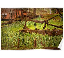 Rustic Fields Poster