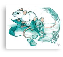 Mice's Harvest Metal Print