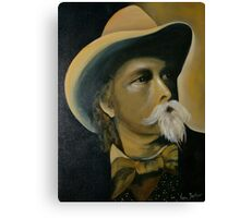 "William Cody alias ""Buffalo Bill"" Canvas Print"