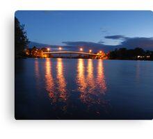 Dumaresq Bridge on Manning Canvas Print