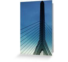 Bunker Hill Bridge Greeting Card