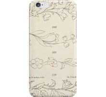 Briggs & Company Patent Transferring Papers Kate Greenaway 1886 0025 iPhone Case/Skin