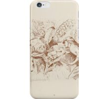 Rhymes for the Young Folk William and Hellen Allingham art Kate Greenaway 0051 The Fairy Shoemaker iPhone Case/Skin