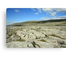 Burren landscape view Canvas Print