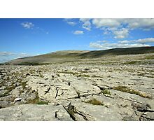 Burren landscape view Photographic Print