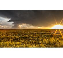 Sunset Supercell Photographic Print
