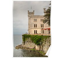 Miramare, Italy Poster