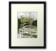 A MAZING EXCHANGE Framed Print