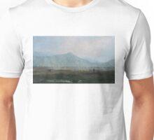 Smoky valley. Kirghizia. Unisex T-Shirt
