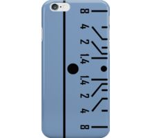 fstop range of classical lens iPhone Case/Skin