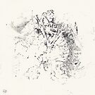 Series Alveoli #4 - Monotype -  by Pascale Baud