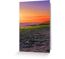North Beach At Sunset  Greeting Card
