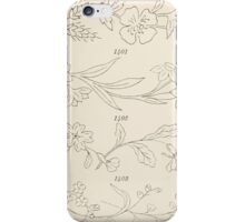Briggs & Company Patent Transferring Papers Kate Greenaway 1886 0031 iPhone Case/Skin