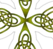 "Lindisfarne ""St John's Knot"" Grunge Sticker"