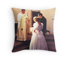 Divine Light Throw Pillow