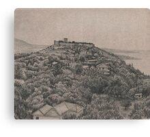 grecian hill Canvas Print