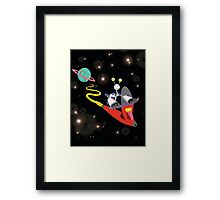 ROBOT EXPLORATION Framed Print