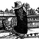 Rodeo Lovin Kasey by dirtthirsty