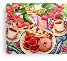 Afternoon Tea Canvas Print