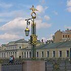 Street light in Saint-Petersburg by Elena Skvortsova