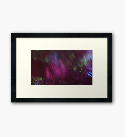 Back to the vivid forest n°1 Framed Print
