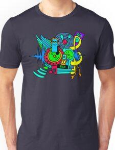Music Print Unisex T-Shirt