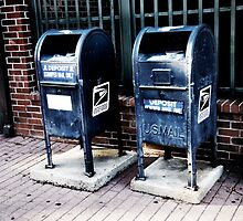 U.S. Mailboxes in Lafayette, Louisiana by Hugster62