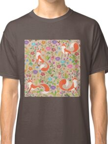 Flower Foxes Classic T-Shirt