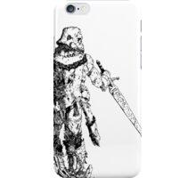 White Knight iPhone Case/Skin