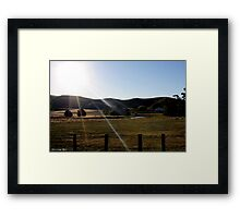 Secret Pond Framed Print