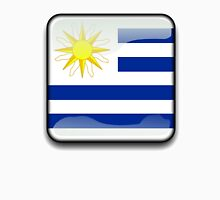 Uruguay Flag, Icon Unisex T-Shirt
