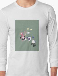 ROBOT BABYSITTER Long Sleeve T-Shirt