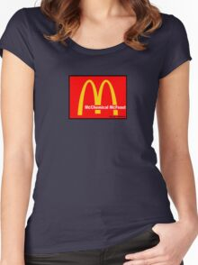 McDonalds = McCHEMICAL McFEASt Women's Fitted Scoop T-Shirt
