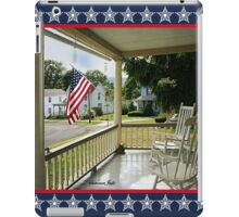 Small Town USA ~ Fourth of July iPad Case/Skin