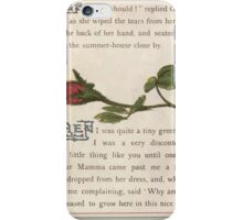 Gertie's Sunflower by George Lambert Mabel 1882 0014 The Bud's Story iPhone Case/Skin