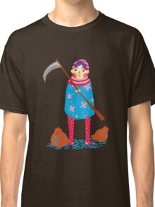 Lady Death and her Chickens Classic T-Shirt