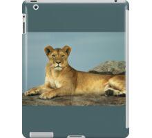 The Queen of Beasts iPad Case/Skin