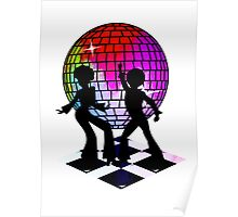 Retro Music DJ! Feel The Oldies! DANCE! Poster